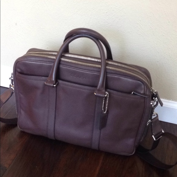 Coach Handbags - Coach Leather Briefcase